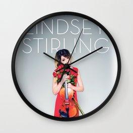 LINDSEY STIRLING AN EVENING TOUR DATES 2019 MAWAR Wall Clock