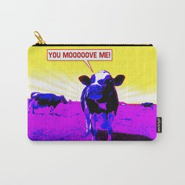 Psychedelic Cows Carry-All Pouch