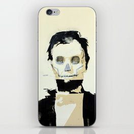 Abraham Lincoln (skull) iPhone Skin
