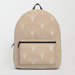 Mermaid Fans: Pale Gold Backpack