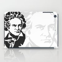 beethoven iPad Cases featuring Beethoven by b & c