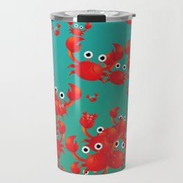 Crab world Travel Mug
