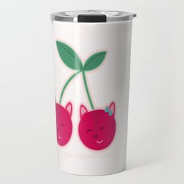 Cherry kitties Travel Mug