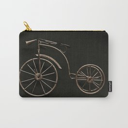 old fashioned bicycle. Carry-All Pouch