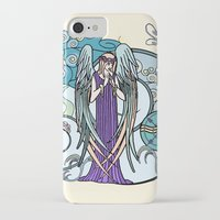 literary iPhone & iPod Cases featuring Angel of Clouds by DebS Digs Photo Art