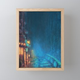 Fairy Tales Bar - Fairy Road Framed Mini Art Print