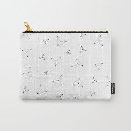 Trigon (White) Carry-All Pouch