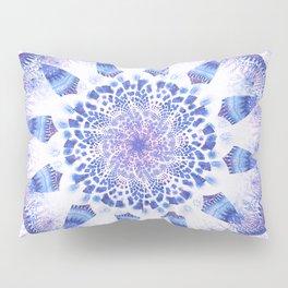 Mandala Flower Violet Art Pillow Sham