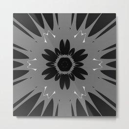 Magnet Flower Metal Print