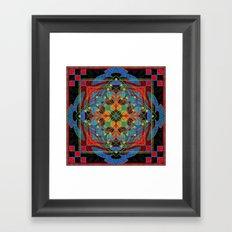 Mandala #9 Framed Art Print