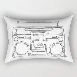 ghettoblaster Rectangular Pillow