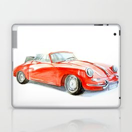 Red retro car Laptop & iPad Skin