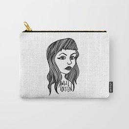 Heart Shaped Face Carry-All Pouch