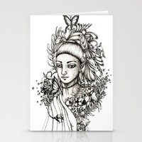 fairy Stationery Cards featuring Fairy by Anca Chelaru