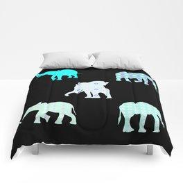 Five Elephants version2 Comforters