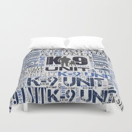 Police Dog Duvet Covers | Society6