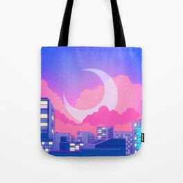 Dreamy Moon Nights Tote Bag