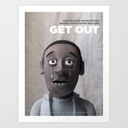 Get Out | Alternative Film Poster Art Print