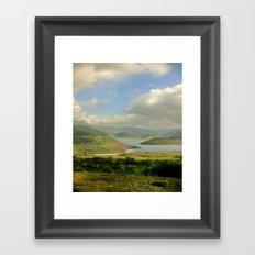 Alpine Ranges Framed Art Print