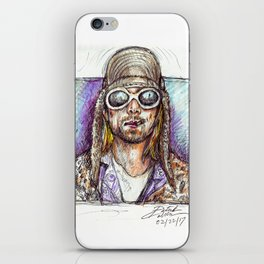 Cobain iPhone Skin