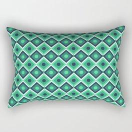 Checkered pattern design art Rectangular Pillow
