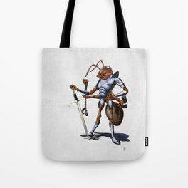 Soldiering On (wordless) Tote Bag
