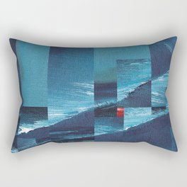 Cracking Waves (Distant Shore) Rectangular Pillow