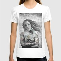 sia T-shirts featuring VENUS ILLUSTRATED by Julia Lillard Art