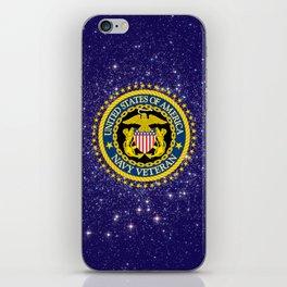 US Navy Veteran iPhone Skin