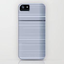 Narrow lights_blue iPhone Case