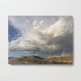 Rainbow Ridge by Leslie Harlow Metal Print