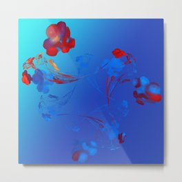 Flower in the Mind Metal Print