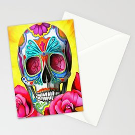 Candy Skull Stationery Cards