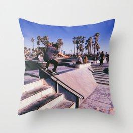 VENICE #003 Throw Pillow