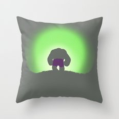 My Time In Exile Throw Pillow