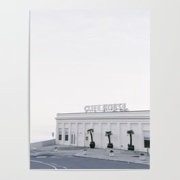 Calm Morning at the San Francisco Cliff House Poster