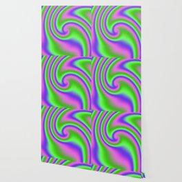 Wild 'n Reckless Ribbon Candy Fractal Wallpaper
