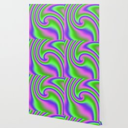 Wild 'n Reckless Ribbon Candy Fractal Wallpaper