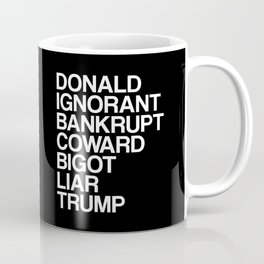 Trump List Coffee Mug