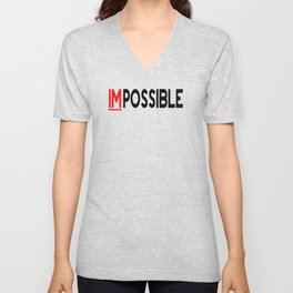 I Am Possible Unisex V-Neck