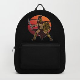 Spartan Warrior | Sparta Greek Fighter Sword Power Backpack