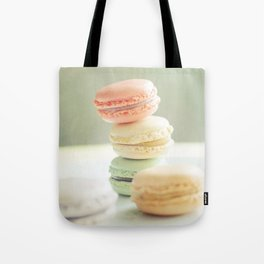 Pretty Macarons Tote Bag