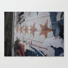 5 star Canvas Print