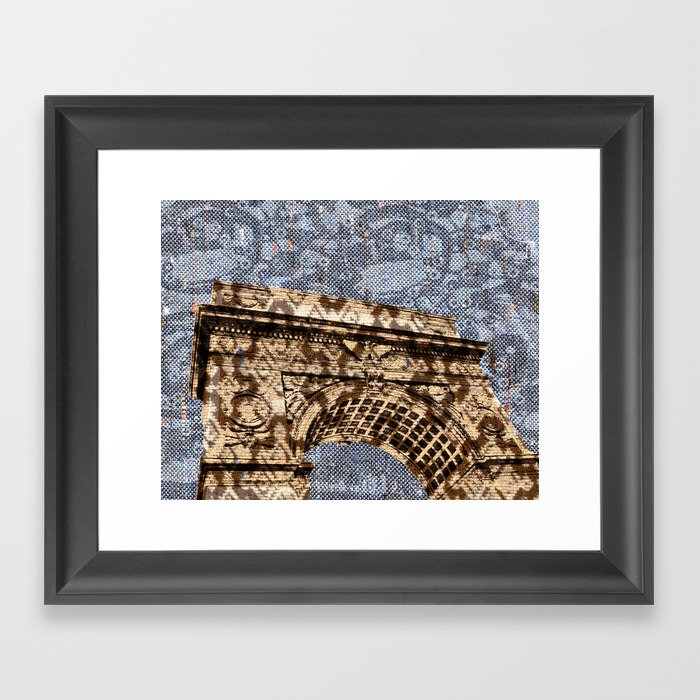 Washington Square Arch Framed Art Print