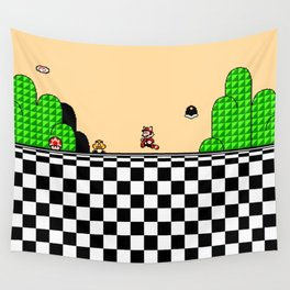 Super Mario Bros. 3 Title Screen | retrogaming Wall Tapestry