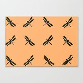 Battimamzelle Design - Peach Canvas Print