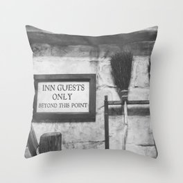 INN Guest Only Throw Pillow