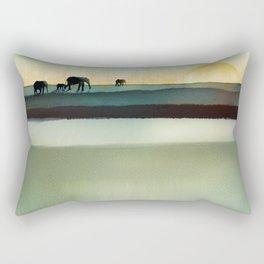 Gentle Journey Rectangular Pillow