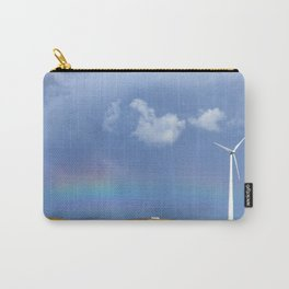 rainbow and windmill Carry-All Pouch