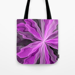 Abstract With Magenta, Modern Fractal Art Tote Bag
